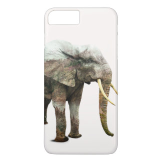 Coque iPhone 7 Plus Transformation d'éléphant