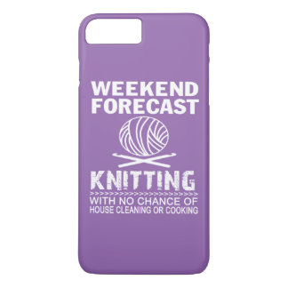 COQUE iPhone 7 PLUS TRICOT DE PRÉVISION DE WEEK-END