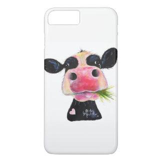 """Coque iPhone 7 Plus Vache fouineuse caisses de galaxie de """"Hurley"""