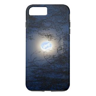 Coque iPhone 7 Plus Vierge Marie béni dans la forêt de Lite de lune