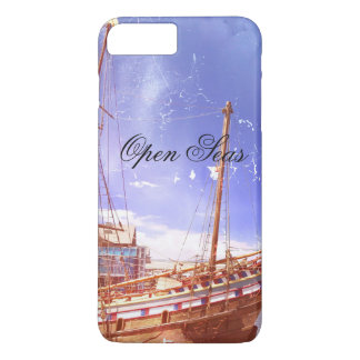 Coque iPhone 7 Plus Vieux bateau de navigation