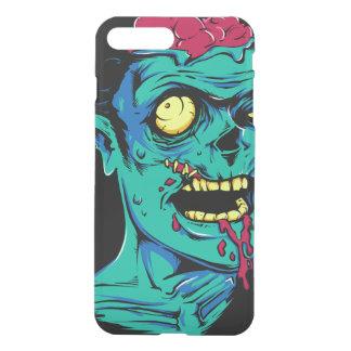 Coque iPhone 7 Plus Visage frais et drôle d'horreur de zombi -