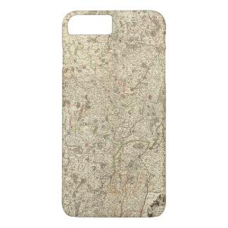 Coque iPhone 7 Plus Zones urbaines de la France 2