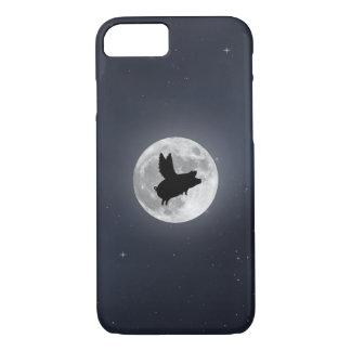 Coque iPhone 7 Porc nocturne de vol