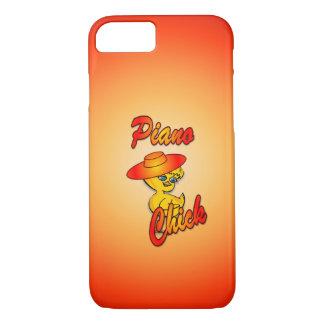 Coque iPhone 7 Poussin #5 de piano
