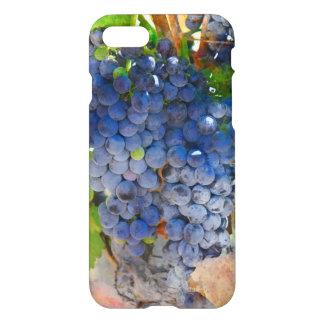 Coque iPhone 7 Raisins sur la vigne dans Napa Valley la