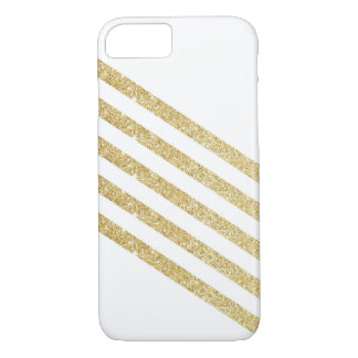 Coque iPhone 7 Rayure d'or
