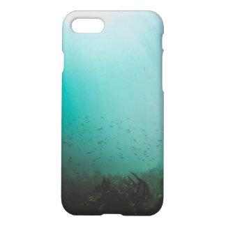 Coque iPhone 7 récif sous-marin de bleu de mer