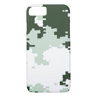 Coque iPhone 7 Région boisée Camo d'hiver