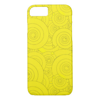 Coque iPhone 7 Remous de jaune !