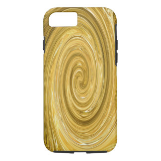 Coque iPhone 7 Remous d'or