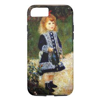 Coque iPhone 7 Renoir - fille avec une boîte d'arrosage