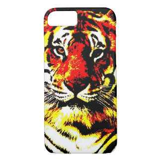 Coque iPhone 7 Rétro cas de l'iPhone 6 de tigre