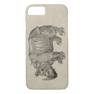 Coque iPhone 7 Rhinocéros de Durer