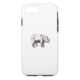 Coque iPhone 7 Rhinocéros d'imaginaire après Albrecht Durer