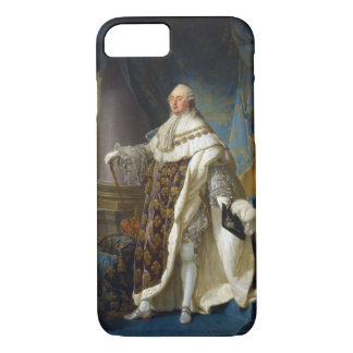 Coque iPhone 7 Roi de Louis XVI de la France et de la Navarre