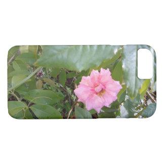 Coque iPhone 7 rose de rose