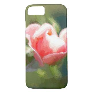 Coque iPhone 7 Rose pittoresque