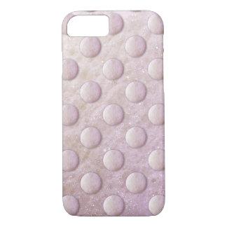 Coque iPhone 7 Rose/pourpre du point 1260C de bulles de savon