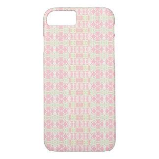 Coque iPhone 7 rose vert