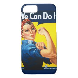 Coque iPhone 7 Rosie la couverture d'iPhone de rivoir