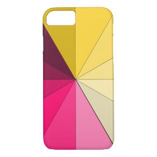 Coque iPhone 7 rouge et jaune