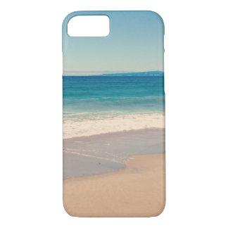 Coque iPhone 7 Scène de plage d'Aqua