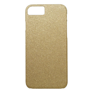 Coque iPhone 7 Scintillement d'or