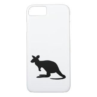 Coque iPhone 7 Silhouette de kangourou