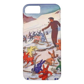 Coque iPhone 7 Ski vintage, Arlberg, St Anton