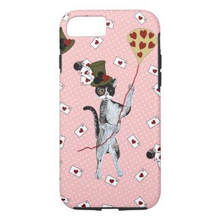 Coque iPhone 7 Steampunk Kitty