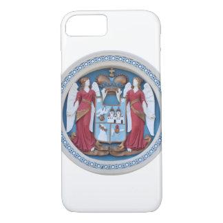 Coque iPhone 7 stuc orthodoxe le Christ de symbole de religion de