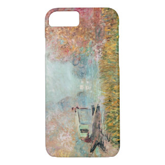 Coque iPhone 7 Studio de bateau de Claude Monet | sur la Seine