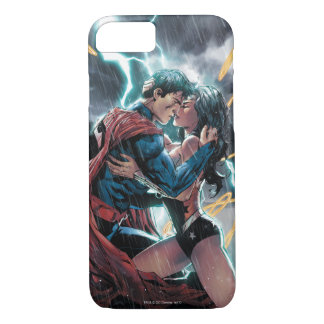 Coque iPhone 7 Superman/art promotionnel comique femme de