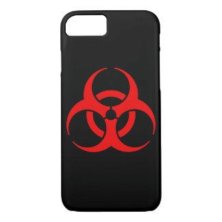 Coque iPhone 7 Symbole de Biohazard