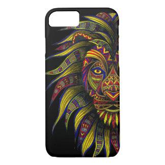 Coque iPhone 7 Symbole de Lion