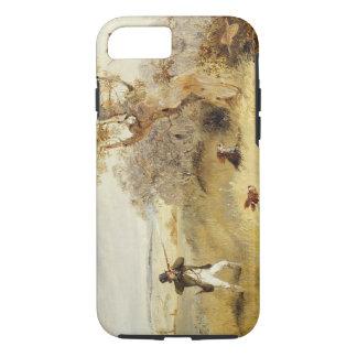 Coque iPhone 7 Tir de faisan (huile sur la toile) 2