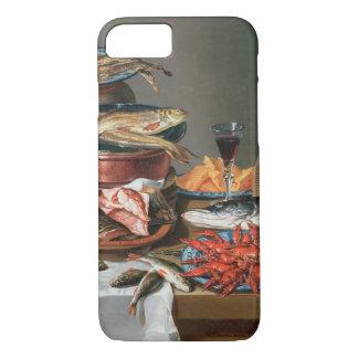 Coque iPhone 7 Une vie immobile des homards d'un poisson, de