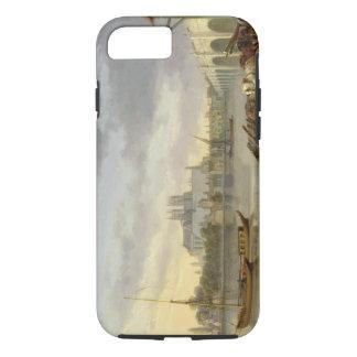 Coque iPhone 7 Une vue de pont de Westminster et de l'abbaye du