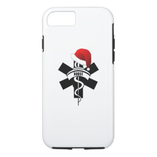 Coque iPhone 7 Vacances d'infirmière de Noël