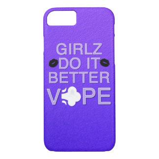 Coque iPhone 7 Vape Girly