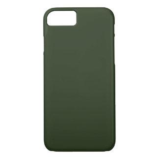 Coque iPhone 7 ~ VERT IMPECCABLE (de couleur solide)