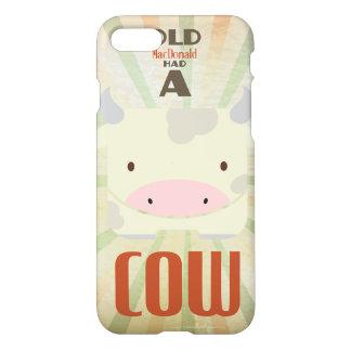 Coque iPhone 7 Vieux MacDonald a eu une vache
