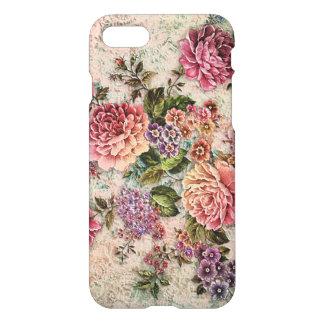 Coque iPhone 7 Vieux roses de mode