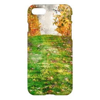 Coque iPhone 7 Vignoble dans Napa Valley pendant l'automne