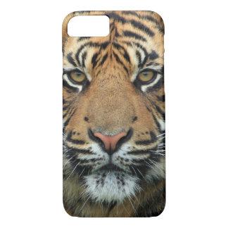 Coque iPhone 7 Visage de tigre