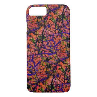 Coque iPhone 7 VITE SIX ! ~ (de conception d'art abstrait)