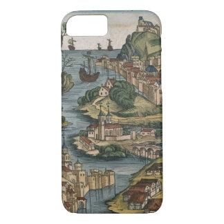 Coque iPhone 7 Vue du Bosphore entrant de la Mer Noire,