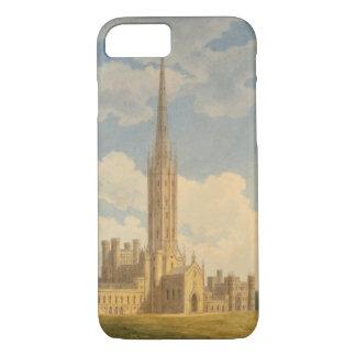 Coque iPhone 7 Vue du nord-ouest d'abbaye de Fonthill (la semaine