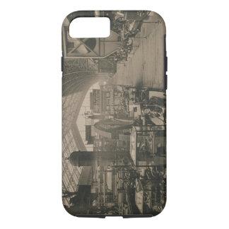 """Coque iPhone 7 Vue intérieure du hall de machines, de """"L'Album"""